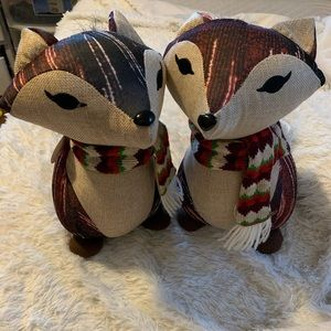 Rare American Greeting has Holiday Foxes